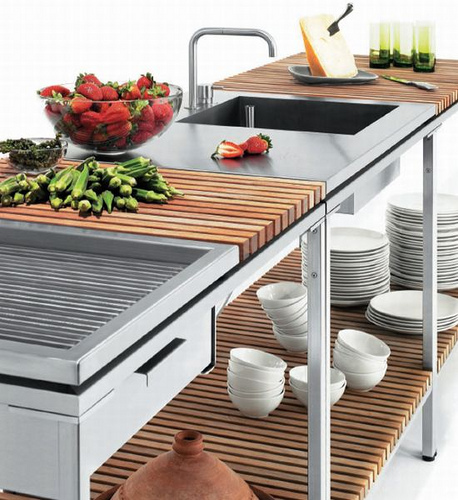 Trend Außenküche: Kochen unter freiem Himmel |