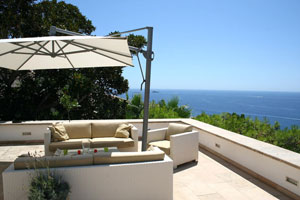 die dachterrasse mediterran gestalten. Black Bedroom Furniture Sets. Home Design Ideas