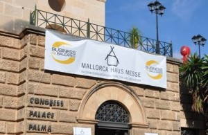 Mallorca Haus Messe Eingangsschild