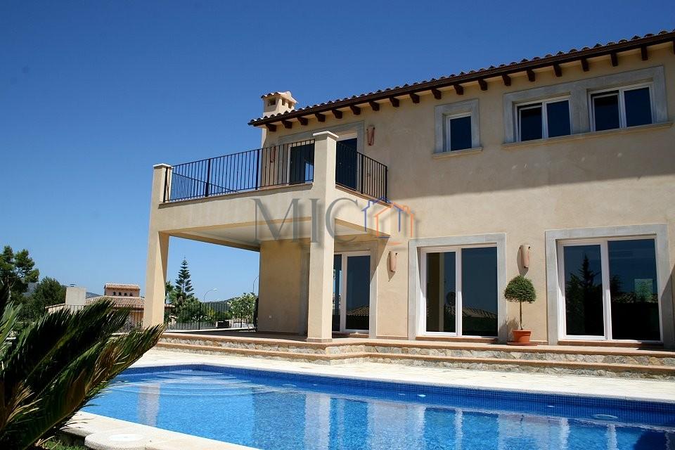 Immobilie des Monats Februar 2014 – Moderne Neubauvilla bei Santa Ponsa