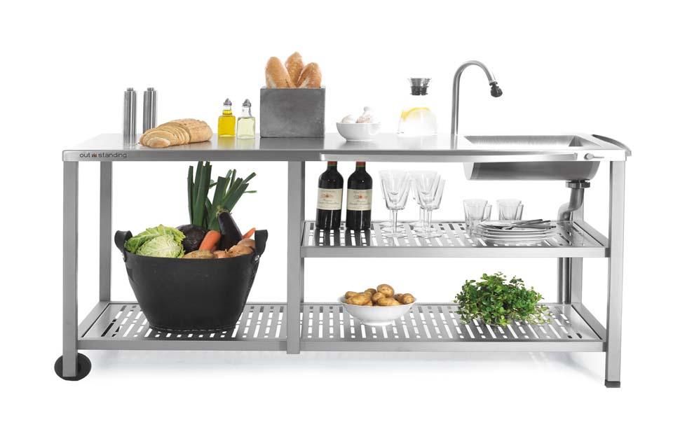 Sommerkuche fur garten und terrasse for Gasbrenner küche