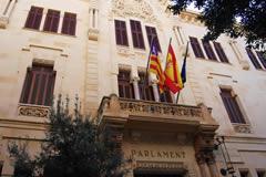 ... und im Parlament der Balearen