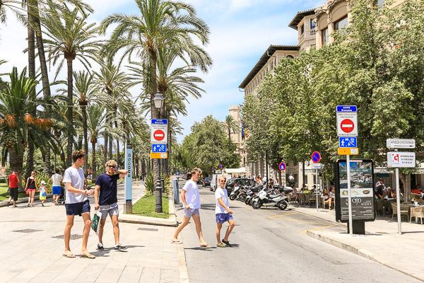 Palma Altstadt: neue Verkehrsregelung